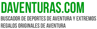 DAventuras.com - Buscador de Deportes de Aventura y Extremos. Regalos Originales de Aventura